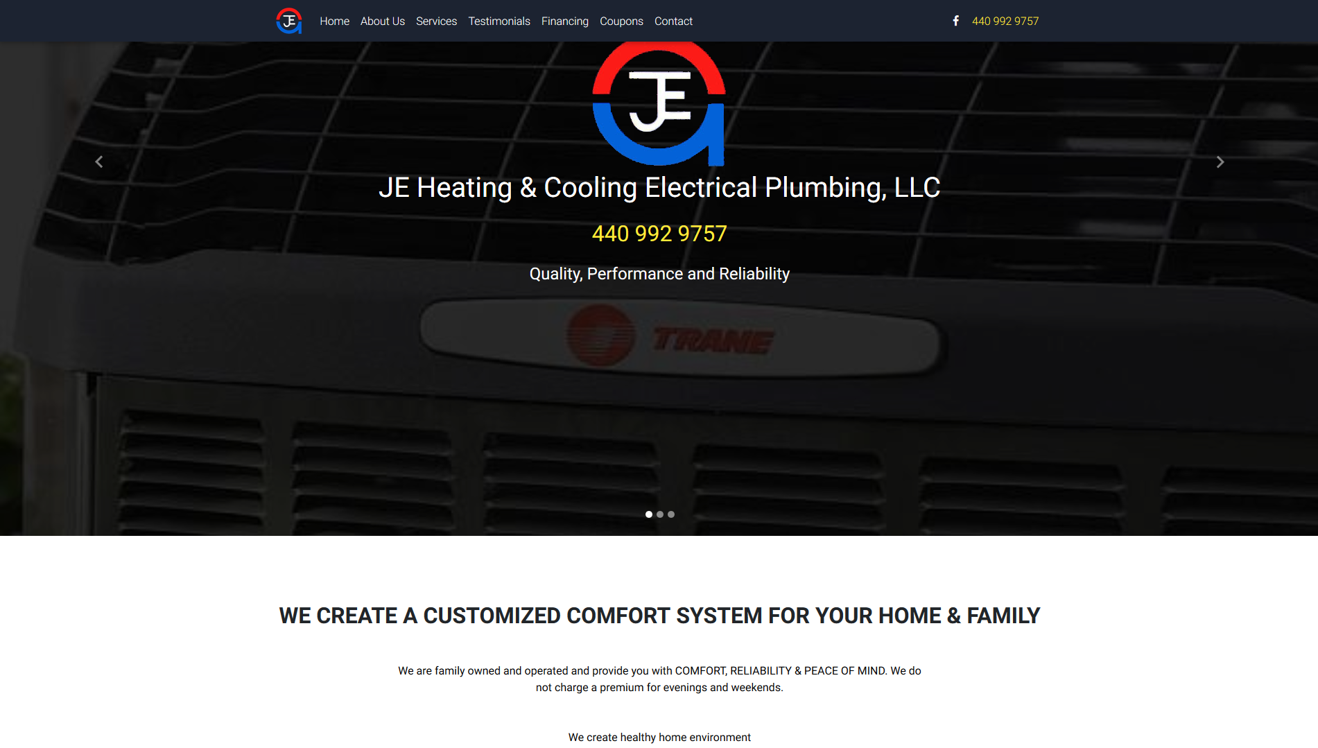 JE Heating and Cooling
